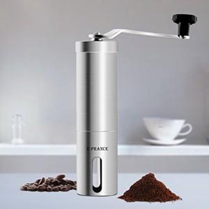 Moulin--caf-E-PRANCE-Broyeur--Caf-manuel-Hand-Coffee-Grinder-Grande-grain-de-caf-Espresso-avec-des-meuleuses-en-cramique-en-acier-inoxydable-0