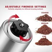 Firlar-Manuel-Premium-Coffee-Grinder-corps-en-acier-inoxydable-rglable-en-cramique-Conical-Burr-Main-Mill-Crank-Grinds-Haricots-pices-bross-0-0