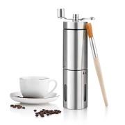 Moulin--Caf-Manuel-SUMGOTT-Portable-de-lacier-inoxydable-de-grande-finesse-Machine--caf-avec-Sac-de-Transport-Brosse-de-nettoyage-0-0