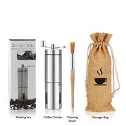 Moulin--Caf-Manuel-SUMGOTT-Portable-de-lacier-inoxydable-de-grande-finesse-Machine--caf-avec-Sac-de-Transport-Brosse-de-nettoyage-0