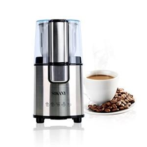 Moulin--caf-lectrique-Broyeur--Caf-pour-les-Grains-Noix-Poivre-pices-semences-de-caf--Lames-En-Acier-Inoxydable--Moteur-Puissant-200W-SM-3020S-0