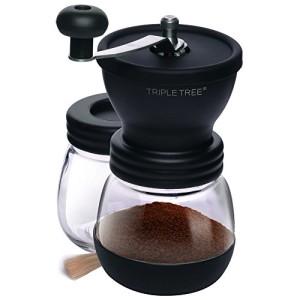 Triple-Tree-Moulin--caf-manuel-avec-broyeur-en-cramique-Manuel-Moulin--caf-Moulin--main-rglable-Verre-De-Rechange-Broyeur-en-Cramique-Coffee-Grinder-moudre-Cramique-0
