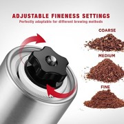 Firlar-Manuel-Premium-Coffee-Grinder-corps-en-acier-inoxydable-rglable-en-cramique-Conical-Burr-Main-Mill-Crank-Grinds-Haricots-pices-bross-0-0