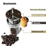 VeoHome--Moulin--Caf-Bnoa--Moulin--caf-manuel-de-grande-capacit-avec-Broyeur-en-cramique-Garanti--Vie-Finesse-de-grain-Rglable--Design-moderne-et-fonctionnel-0-0
