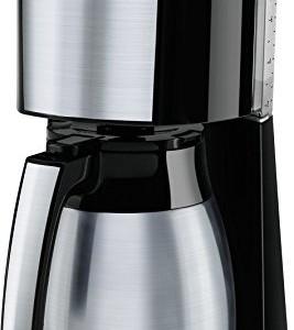 Melitta-Cafetire--Filtre-avec-Verseuse-Isotherme-en-Acier-Inoxydable-Slecteur-dArme-Enjoy-Top-Therm-NoirAcier-Bross-1017-08-0