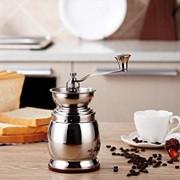 PLYY-Machine--caf-de-Moulin--Main-rectifieuse-Manuelle-en-Acier-Inoxydable-rectifieuse-de-Grain-de-caf-broyeur--la-Maison-paisseur-rglable-de-Poudre-0-0