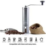 Moulin--Caf-Manuel-La-Collection-Elegance-Henry-Charles-En-Acier-Bross-Inoxydable-avec-Meule-Ajustable-en-Cramique-Taille-compacte-parfaite-pour-la-maison-le-bureau-ou-en-voyage-0-0