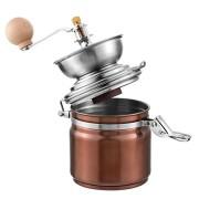 Hoomall-Moulin--Caf-Broyeur--Caf-Manuel-Grain-de-Caf-Espresso-pr-Caf-Noix-Epices-en-Acier-Inoxydable-19cmx10cm-0-0