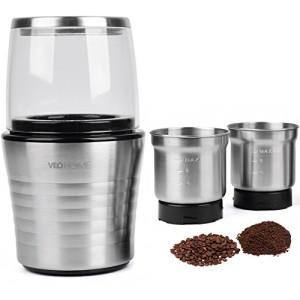 Moulin--caf-et-mixeur-lectrique-VeoHome-pour-grains-de-caf-de-lin-et-autres-pices-inox-0