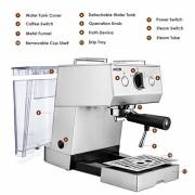 Aicok-Cafetire-Expresso-Machines--Caf-Expresso-professionnelle-1140W-avec-Pompe-20-bar-15-L-Amovible-Rservoir-Deau-Fonction-de-Chauffage-Acier-inoxydable-0-0