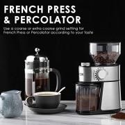 Aicok-Moulin--Caf-lectrique-avec-18-Rglages-Fin--Grossier-Moulin--Caf-14-Tasses-avec-Capacit-de-250-g-de-Haricots-Broyeur-Conique--Graines-de-Lin-Noix-Poivre-pices-Inox-0-0