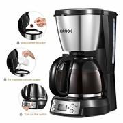 Aicook-Cafetire--Filtre-Cafetire-Electriques-Programmable--12-Tasse-Machine--Caf-avec-LCD-cran-Isolation-et-Filtre--Caf-Permanent-Anti-Gouttes-Arrt-Automatique-900W-0-0