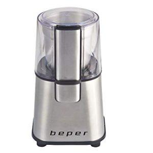 BEPER-90525-Moulin--Caf-Electrique-220-W-06-kilograms-INOX-0