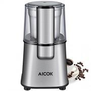 Aicok-Moulin--Caf-lectrique-avec-Lames-en-Acier-Inoxydable-et-Gobelet-Amovible-220W-Broyeur--Graines-de-Lin-Noix-Poivre-pices-Semences-de-Caf-0