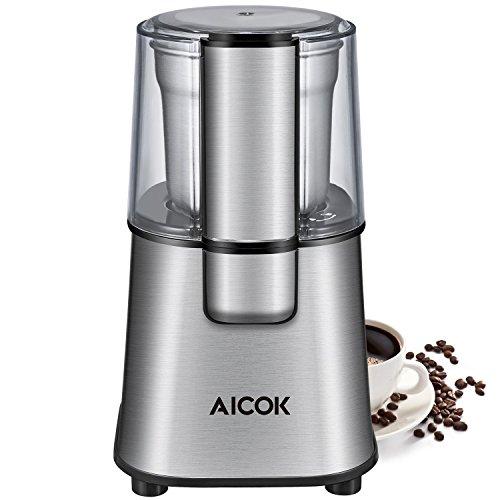 Aicok-Moulin–Caf-lectrique-avec-Lames-en-Acier-Inoxydable-et-Gobelet-Amovible-220W-Broyeur–Graines-de-Lin-Noix-Poivre-pices-Semences-de-Caf-0