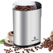 Sararoom-Moulin--Caf-lectrique-Broyeur--Grains-Multifonction-avec-Lames-en-acier-inoxydable-de-Grande-Capacit-de-70g-220W-0