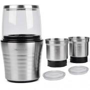Moulin--caf-et-mixeur-lectrique-VeoHome-broyeur-pour-grains-de-caf-graine-de-lin-et-autres-pices-inox-0