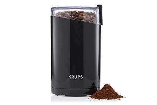 Krups-F2034210-Moulin–Caf-lectrique-Fast-Touch-Broyeurs-Grains-pices-Fruits-Secs-Moudre-200W-Noir-0