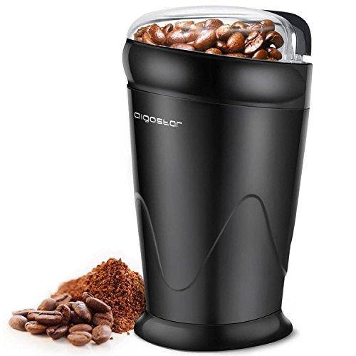 Aigostar-Breath-30CFR-Moulin–caf-pices-et-graines-100-sans-BPA-Lames-en-acier-inoxydable-avec-protection-anti-usure-De-couleur-noir-puissance-de-150W-et-capacit-de-60-gr-Design-exclusif-0