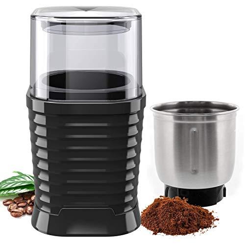 NWOUIIAY-Moulin–Caf-lectrique-Broyeur–Caf-Multifonction-Sparable-avec-Lame-et-coupelle-en-Acier-Inoxydable-pour-Caf-Herbes-Graines-de-Lin-Noix-de-Muscade-etc-0